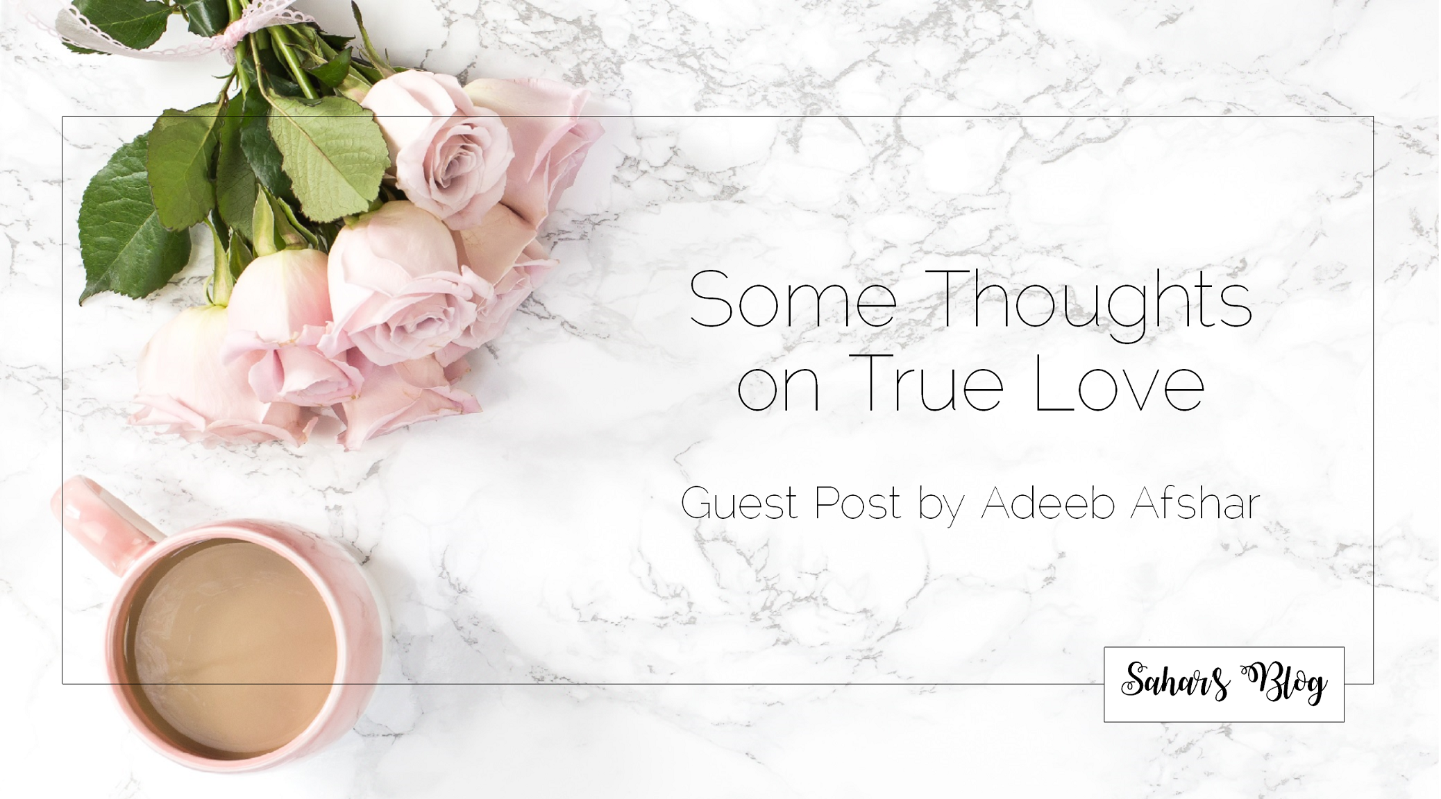 Some Thoughts on True Love: Guest Post by Adeeb Afshar